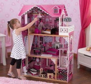 Amelia - Barbiehus med hiss
